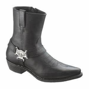 Harley Davidson Stiefel Boots : harley davidson kids boots youth 1 m black with logo patches ~ Jslefanu.com Haus und Dekorationen