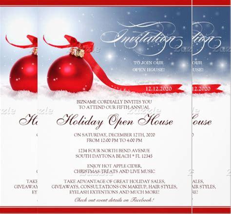 22 open house invitation templates free sle exle