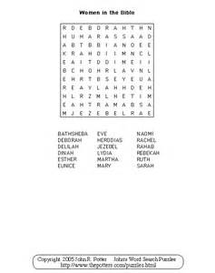 Bible Word Search Puzzles for Women