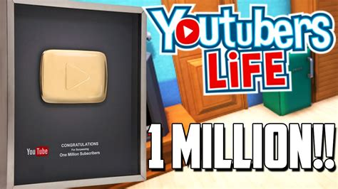 Million Subscribers Youtubers Life Gameplay Youtube