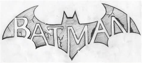 Batman Logo Sketch How...