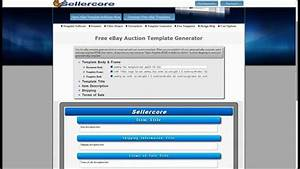 free ebay store templates builder - free ebay template generator