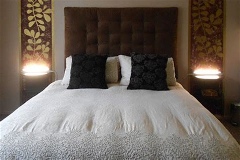 How To Build An Upholstered Headboard by Home Dzine Bedrooms How To Make An Upholstered Headboard