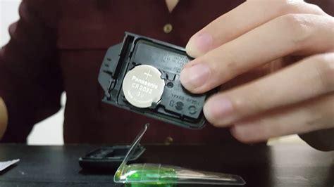 Keyless Remote Battery Replacement Honda City