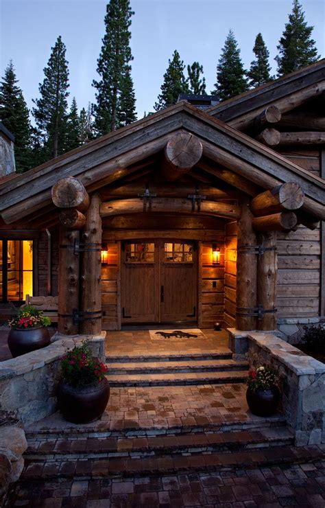 modern log cabin homes 1000 ideas about modern log cabins on log
