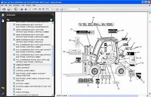 Yale Forklift Gp  Glp  Gdp040vx  Glp  Gdp070vx  B875