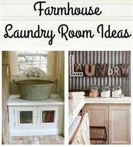 Farmhouse Friday - Laundry Room - Knick of Time