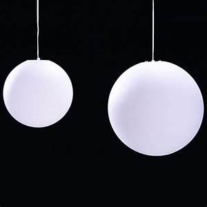 Boule Led Exterieur : luminaire ext rieur boule ~ Teatrodelosmanantiales.com Idées de Décoration