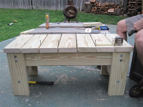 Diy Patio Bench Plans by Diy Furniture My Husband S Patio Bench Two