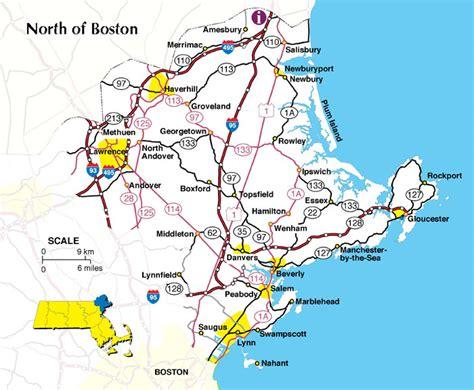 map  massachusetts boston map  map