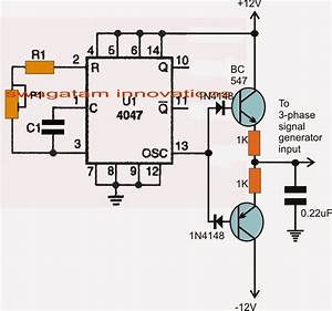 Simple 3 Phase Inverter Circuit