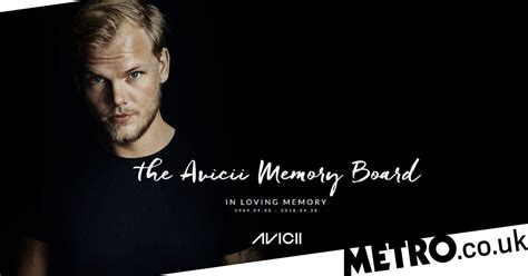 Avicii Website Turned Into Memory Board By His Family