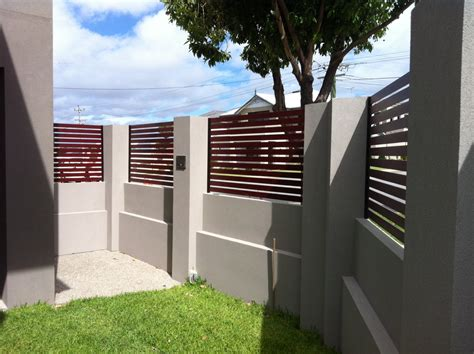 modern brick fence designs brick wall fence designs home design ideas
