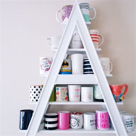 Kitchen Organizer Ideas - 12 handy diy mug tree and display ideas the family handyman