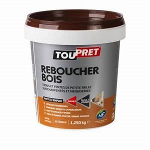 Pâte à Bois De Rebouchage : enduit de rebouchage sp cial bois toupret p te 1 25kg ~ Dailycaller-alerts.com Idées de Décoration