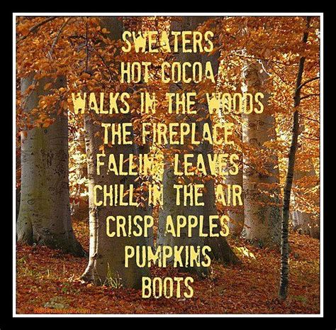 Quotes I Love Fall Quotesgram