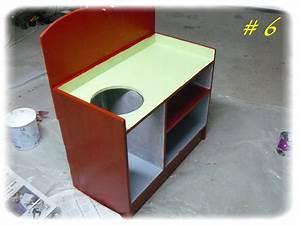 fabriquer une cuisine en bois pour enfant With fabriquer une cuisine enfant