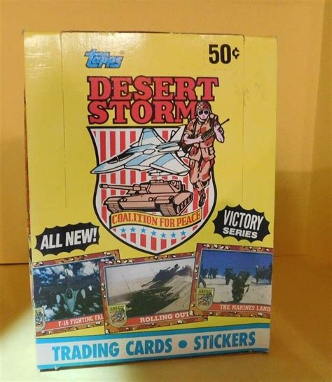 The autobots managed to send shockwave fleeing with his pet driller, but only just barely. Vintage 1991-Topps Desert Storm Victory Trading Cards Series 2 Wax Box | eBay