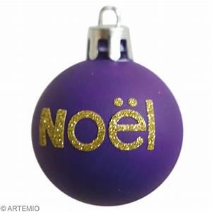 Boule De Noel De Meisenthal : boules de no l personnalis es avec feutrine et paillettes ~ Premium-room.com Idées de Décoration