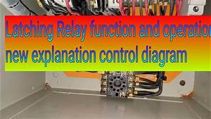 Latching Relay Tutorial   Latching Relay Wiring   Latching Relay Diagram