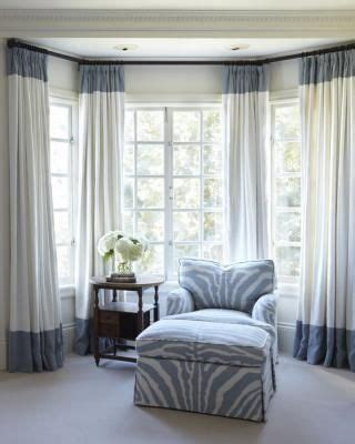 how to drape a bay window 25 best ideas about bay window curtains on