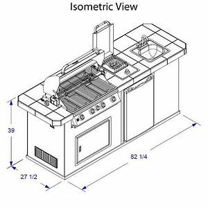 outdoor kitchen dimensions - Google Search Garden