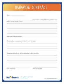 Blank Behavior Contract