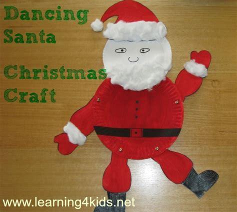 santa craft learning 4 286 | Dancing Santa Christmas Craft