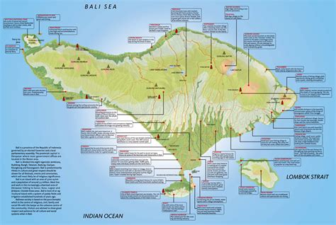 map of bali vacation bali indonesia