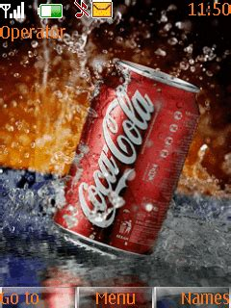 animated coca cola  theme