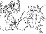 Shredder Coloring Pages Tmnt Splinter Krang Theaven Deviantart Boys Rocksteady Donatello Coloringtop Template sketch template