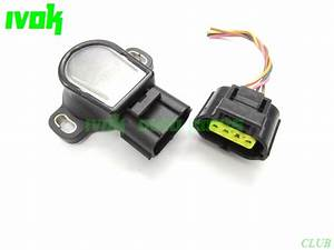 Throttle Position Sensor Tps Connector  Wire For Toyota