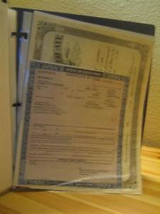 Create an important documents grab and go binder for Important family documents binder