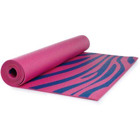 walmart exercise mat lotus pink zebra print mat walmart