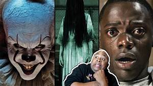 REACTING TO THE 2018 TOP UPCOMING HORROR MOVIE Trailers ...  Scary