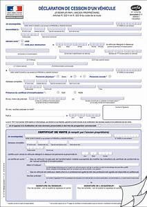 Certificat De Vente Voiture A Imprimer : exemplaire certificat de cession ~ Gottalentnigeria.com Avis de Voitures