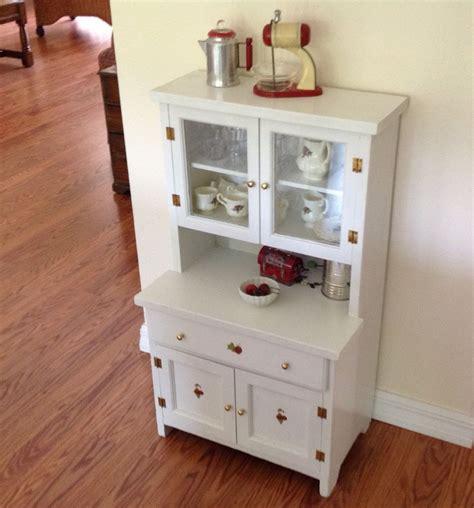 kitchen accent furniture vintage child s play kitchen cupboard hutch wood step