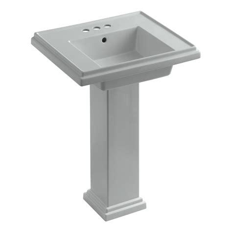 kohler k 2844 4 47 tresham 24 inch pedestal bathroom sink