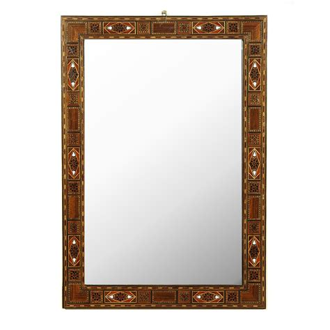 mosaic rectangular bathroom mirror large syrian of pearl mosaic rectangular hanging