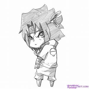 How to Draw Chibi Sasuke, Step by Step, Chibis, Draw Chibi ...