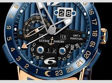 ULYSSE NARDIN PERPETUAL GMT EL TORO BLUE REF 32600