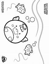 Flappers Fishy Coloring Crayola Pages sketch template