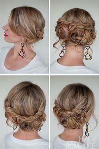 Casual Messy Braided Updo The Best Braided Updos For
