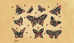 Harry Styles Gets Tattoo of Old School Butterfly That ...