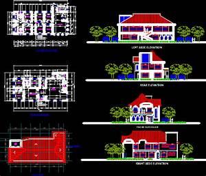 engineering et architecture plan autocad d39une maison d With plan de maison dwg gratuit