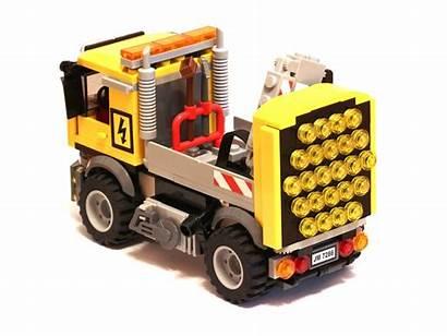 Truck Road Lego Repair Moc Trucks Electronics