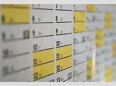 무료 이미지 시각, 번호, 선, 사무실, 노랑, 날짜, 년, 일, 시간표, 벽걸이 달력