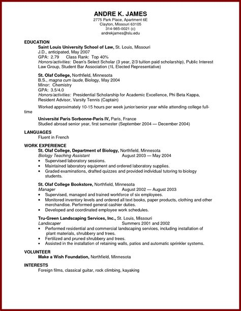 7 study abroad resume sle apgar score chart study abroad resumes tire driveeasy co