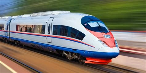 an animated map of a high speed rail network in the