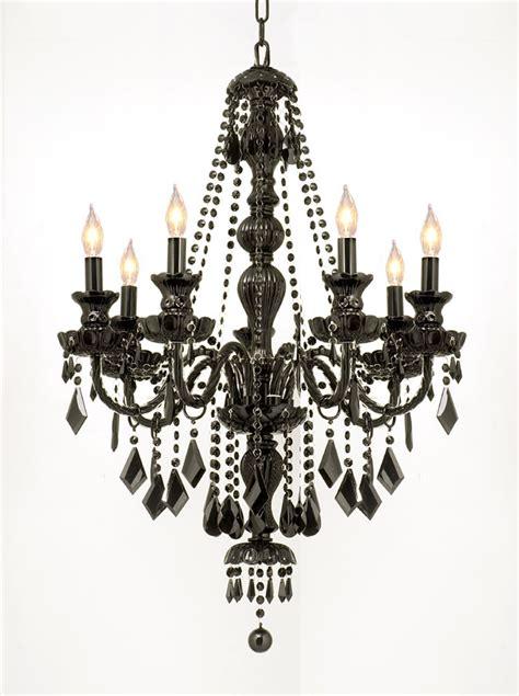 black chandeliers interior exterior doors